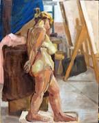 nude in atelier