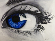 Piercing Blue