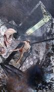 Tom de Freston, Bathroom. 2011. Oil on canvas. 200x140cm
