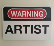 Warning artist - 2016