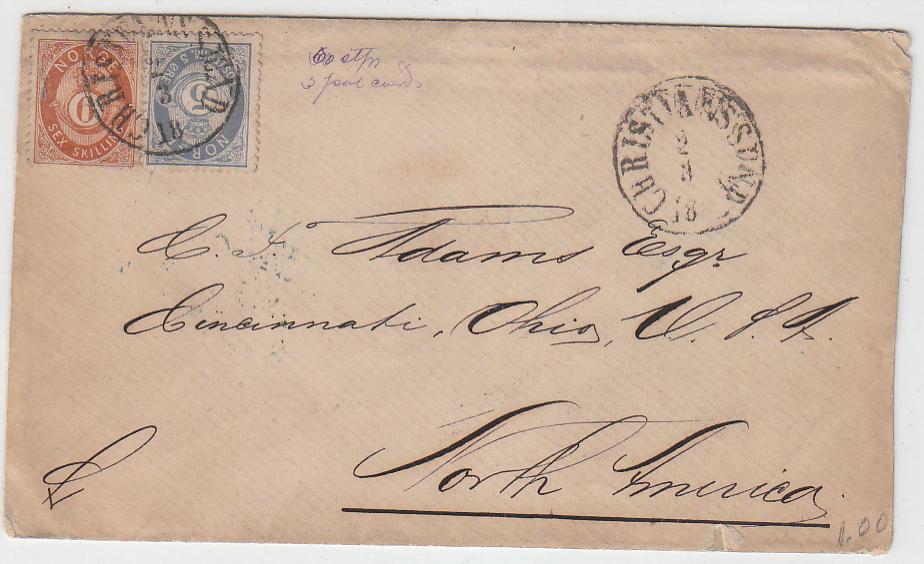 USA brev NK 20 og 24