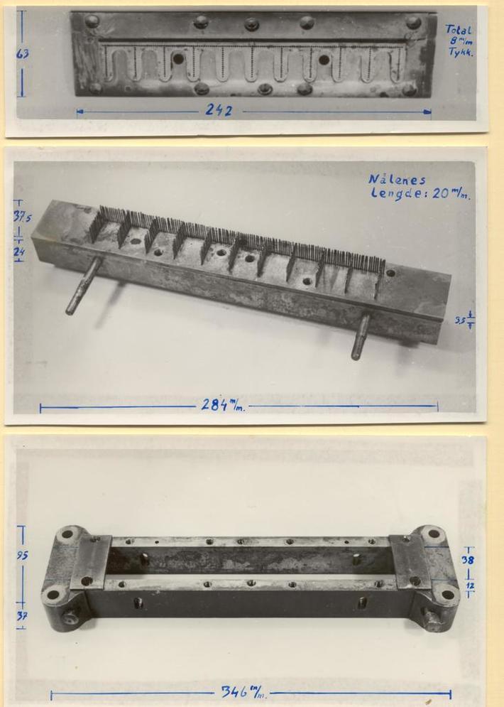 Perforeringsmaskinen 1863-1910 øvre del