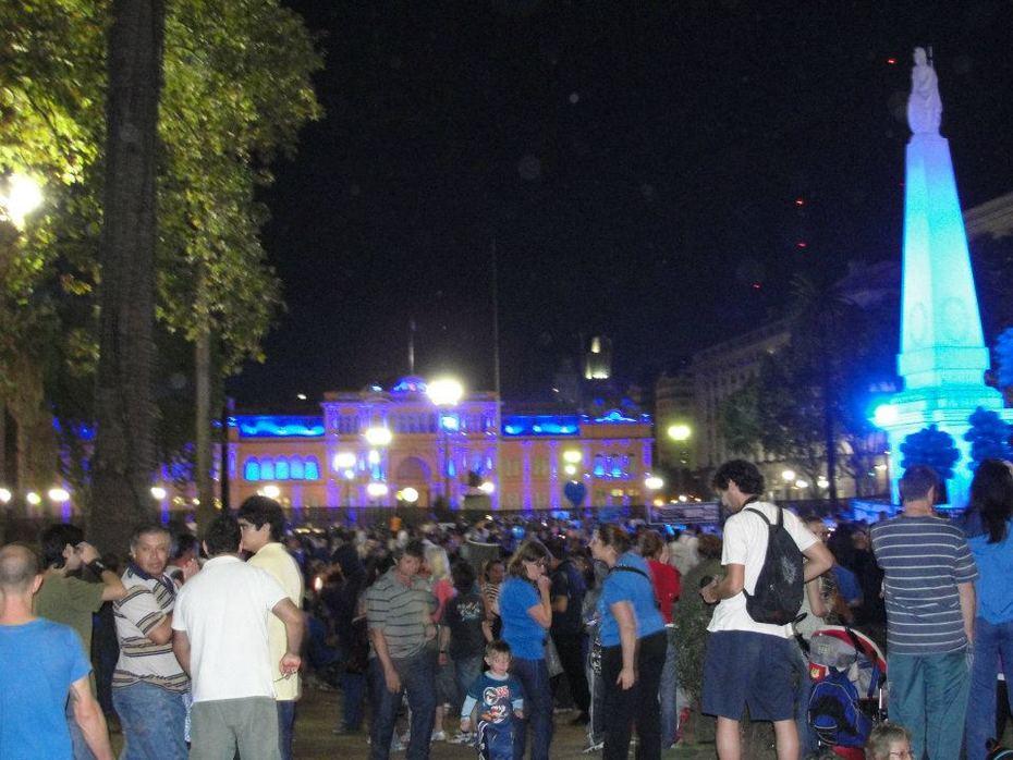 autismo 1 de abril en plaza de Mayo.