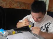 alfabetizando a Ramiro.. Se puede!!!!