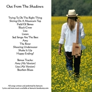 Out From The Shadows - front cover