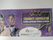 Community Conversation on Males and Gender Violence in Guyana