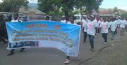 Parade commemoration on 16 DAYS ANTI VIOLENCE AGAINST WOMEN
