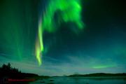 Norrsken över Malmesjaure 4 sep 2012