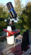 Teleskoppier i stugan