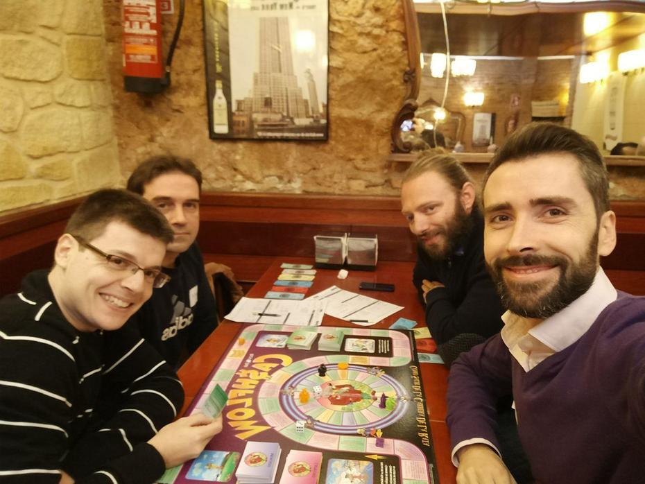 Comida post reunion 146 CashFlow Barcelona
