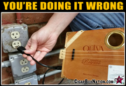Doing It Wrong - Electric CBG
