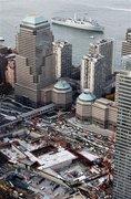 USS New York at ground zero
