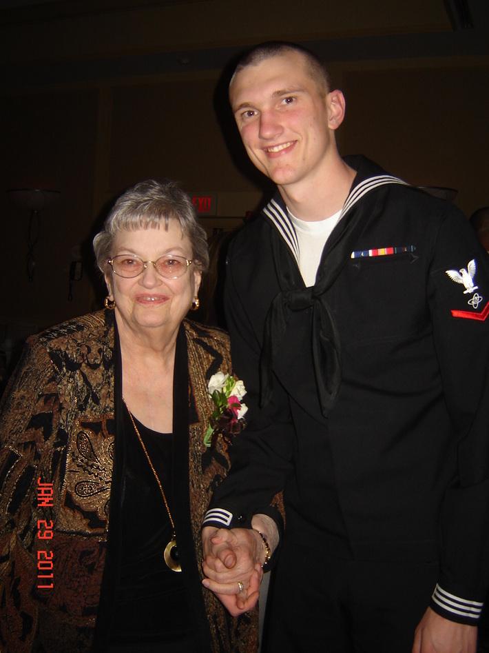 Wyatt and his grandmother