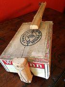 Antique One-String Cigar Box Fiddle