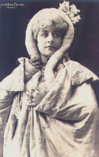 Geraldine Farrar, soprano (1882-1967)