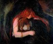 O vampiro (1893) - Edward Munch