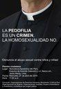 PEDOFILIA É CRIME. A HOMOSSEXUALIDADE, NÃO!