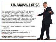 Lei, Moral e Ética - palestra