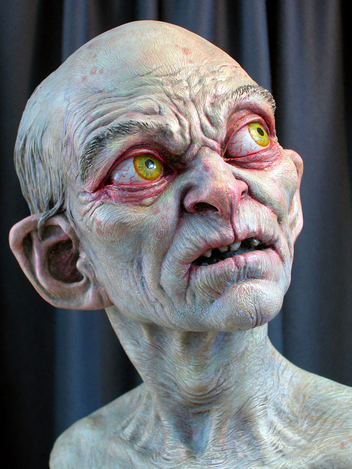 painted_gollum_by_MarkNewman