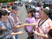 Tess at The Taste of Kalihi