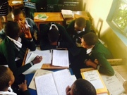 Learning together at Knoasenga Secondary School, 2016