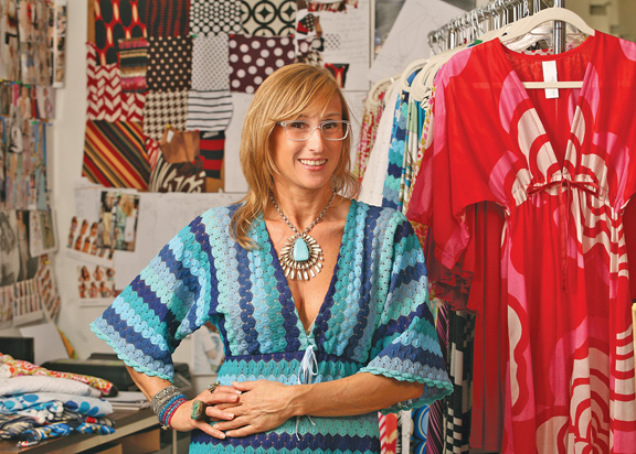 2ce2812adaf0e Designer Nikki Poulos, who lives in the county pocket, will appear on NBC's  Fashion Star.