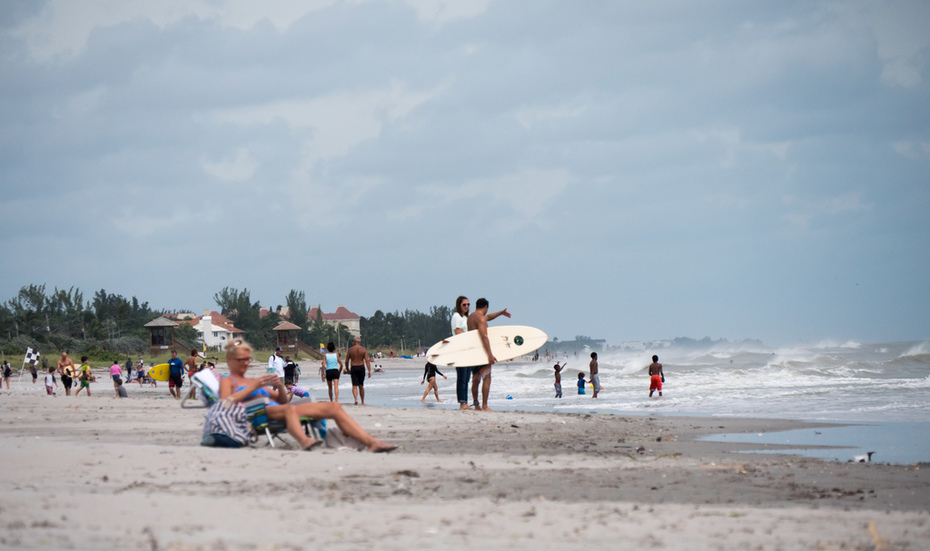 South end of of the municipal beach in Delray