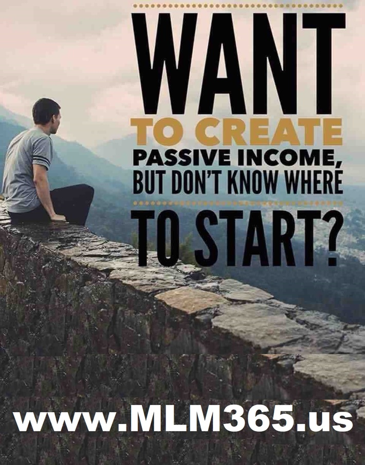 Want to create passive income