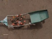 July 2014: Rotary weeder model 2 - with one wheel