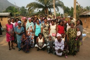 Group photo of the representatives of the new groups we will work with in Bamunka