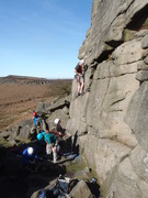 First day of the season at Burbage North March 2012