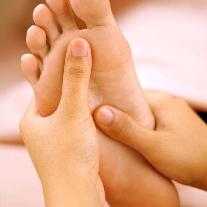 Massaging the Feet