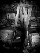 Stone Barn Door Frame