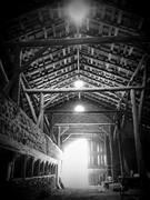 1903 Chase Stone Barn Threshing Area