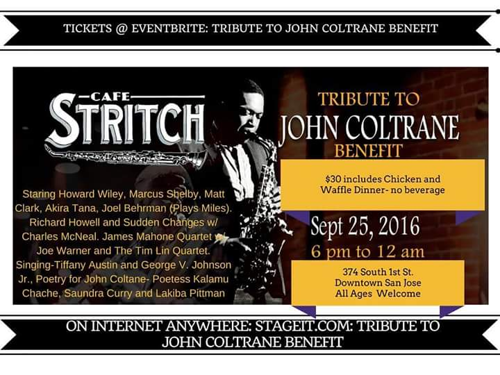 Cafe Stritch Tribute to John Coltrane