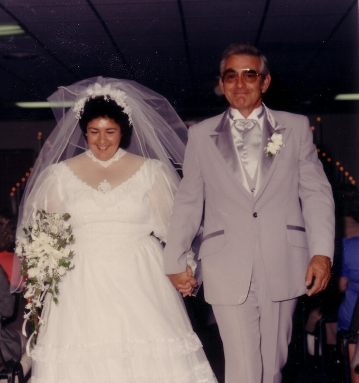Elaine Ralph Wedding  May 4 1986