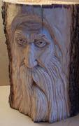 Old Trunk Wood Spirit