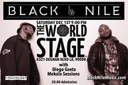 BLACK NILE feat. The Brothaz Aaron and Lawrence Shaw · DwighTrible Presents @ The 'new' World STAGE 11/1/18  9PM