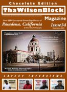ThaWilsonBlock Magazine Issue34 Chocolate Edition
