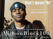 Tone Grizzard Interview Cover
