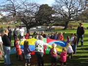 Healthy, Happy outdoor fun with children 0-5 yrs