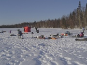 Family Ice Fishing Expedition