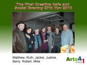 Creative Cafe and Social Evening