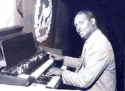 Dean Oliver Wenceslao at work on the Hammond Organ