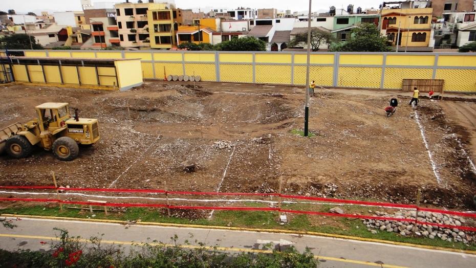 SKATEPARK SURCO LOMA AMARILLA EN CONSTRUCCIÓN