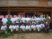 Agricultores de cacao organizados