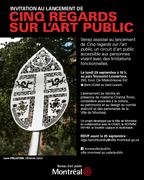 Cinq regards sur l'Art public