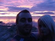 Manukau Auckland sun set 22/21/2012