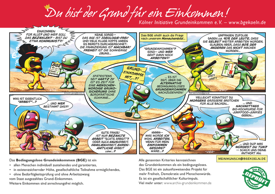 Comic-Flyer Seite 1