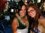 Natalie and I at reggae rising 2009